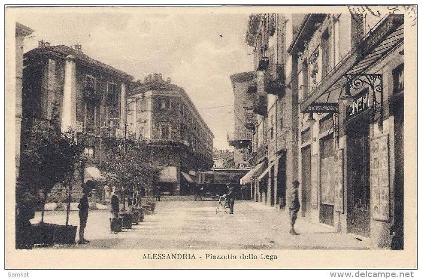 1930 - Alessandria Piazzetta della Lega