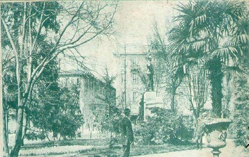 ALESSANDRIA-GIARDINI PUBBLICI-MONUMENTO A UMBERTO I-1920