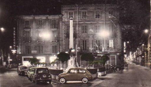 Piazzetta della Lega. 1961