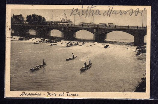 Alessandria - Ponte sul Tanaro.