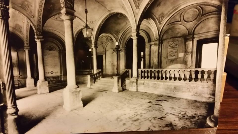 Ingresso Ospedale Civile della fine ottocento.