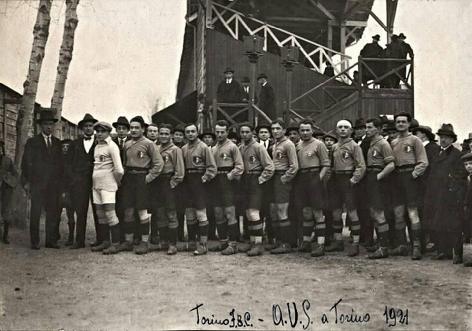 Alessandria in una partita contro Il Grande Torino 1921