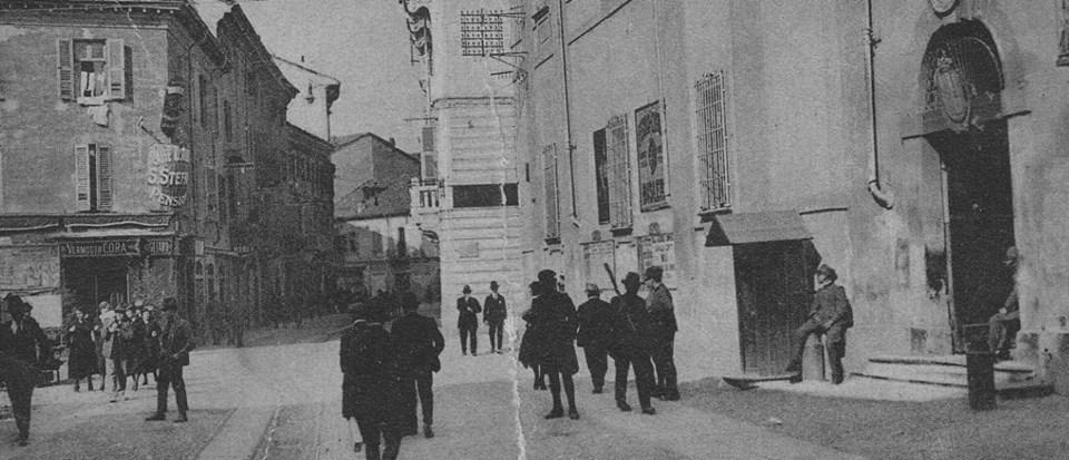 Piazza S. Stefano e Distretto Militare