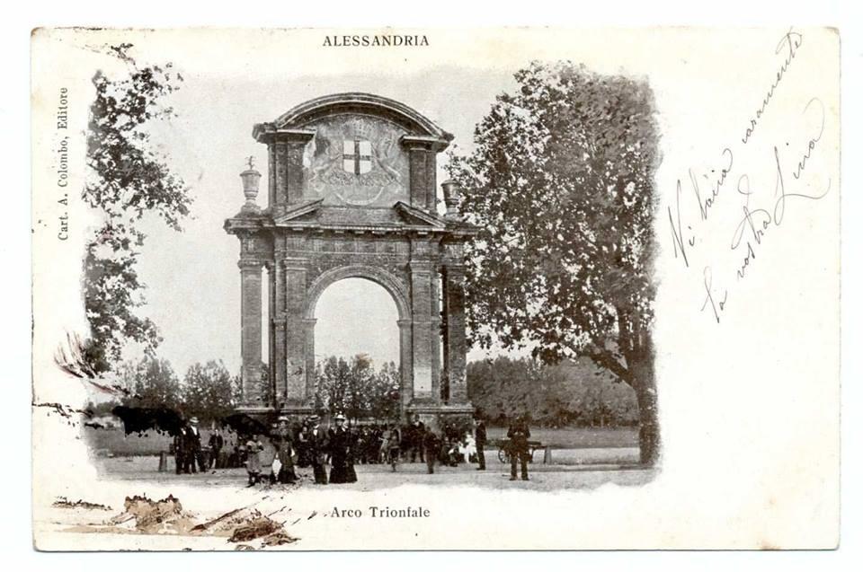 Arco di Piazza Genova - 1900
