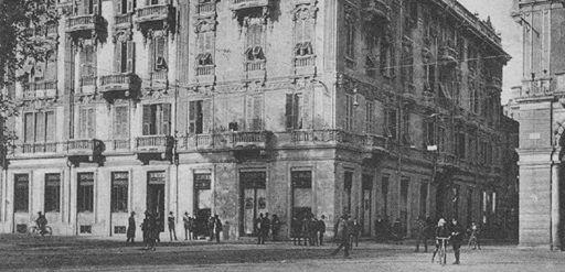 C.so Roma e Palazzo Lavagetto