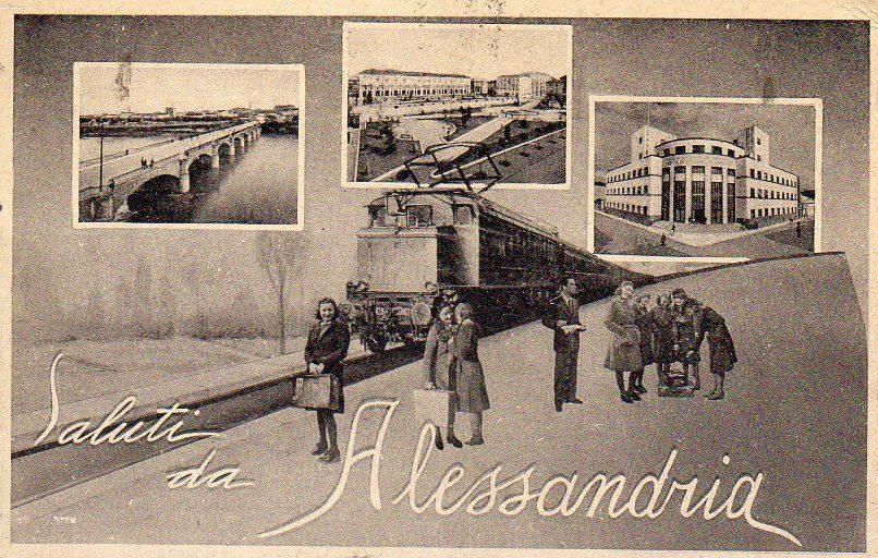 Saluti da Alessandria - 1941