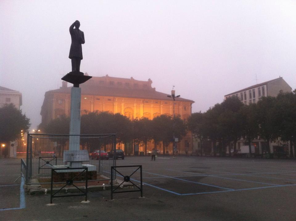 Piazza della Libertà 2014 e monumento a Urbano Rattazzi
