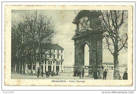 1917 Alessandria - Porta Marengo