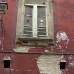 Il degrado in cui versa il Palazzo Comunale (2015)