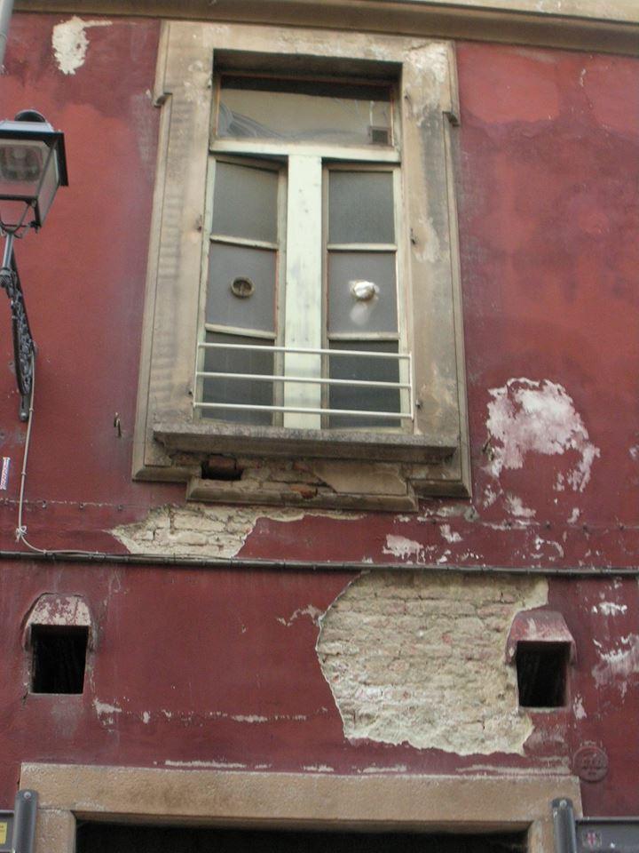 Il degrado del Palazzo del Comune (2015)