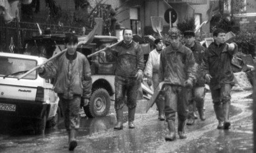 Ricordo dell'alluvione del 1994