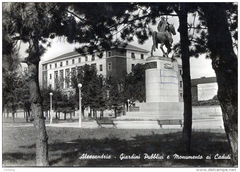 Giardini pubblici e monumento ai caduti