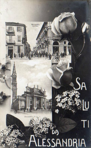 Saluti da Alessandria - 1911