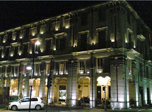 Piazza Genova by night