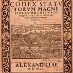 Codex Alexandriae