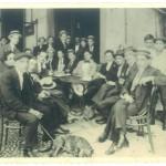 Caffè Roma – Piazza Rattazzi (ora Piazza della Libertà) – 1914