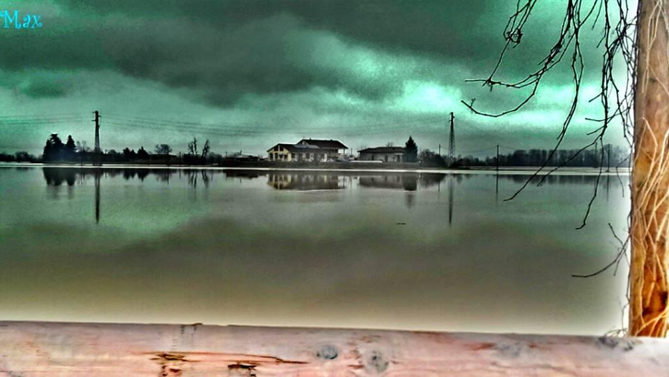 Lo scorso Autunno, durante l'ultima esondazione della Bormida, in zona Casetta-Riverside