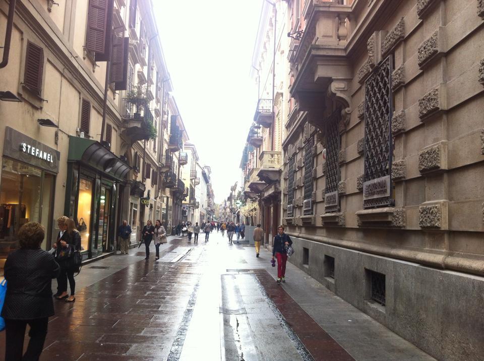 Corso Roma sotto la pioggia - 18 Ottobre 2014