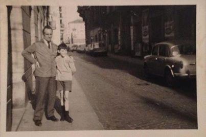Via S.G.della Vittoria anni '60...si percorreva da Piazza Garibaldi verso Piazza della Libertá...  di Lorella Torti
