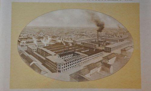 Locandina Borsalino databile all'incirca anni '40