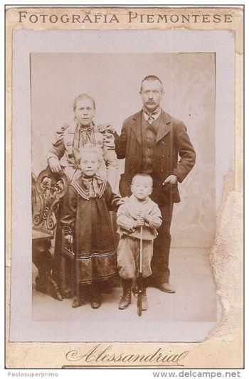 ALESSANDRIA - Foto di famiglia - FOTOGRAFIA PIEMONTESE - Primo '900.
