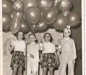 Alessandria, anni '50 presso la scuola elementare Carlo Zanzi al Cristo.