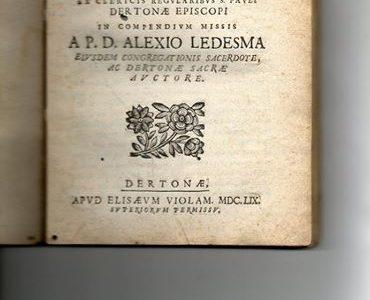 COSIMO DOSSENA… 1659…