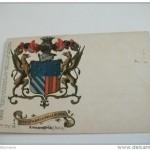 Alessandria – stemma araldico Ottolenghi di Vallepiana