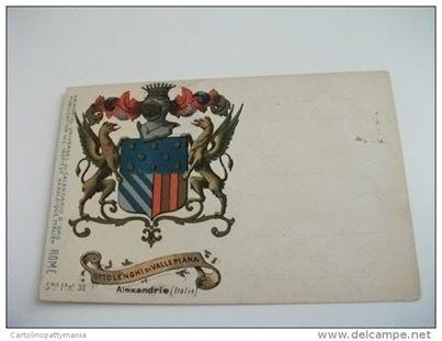 Alessandria - stemma araldico Ottolenghi di Vallepiana