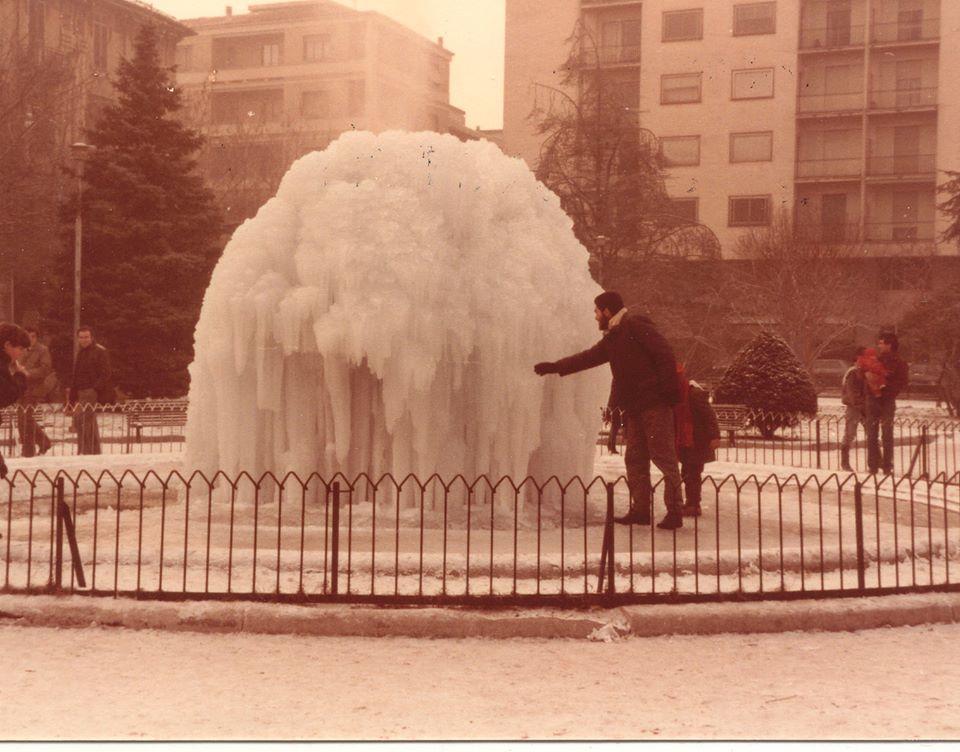 Piazza Genova - Inverno 1985
