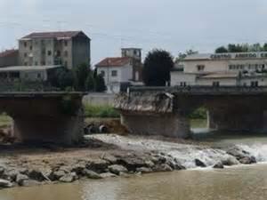 Demolizione del Ponte Tanaro