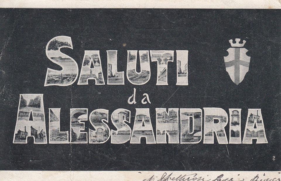 Saluti da Alessandria - 1904