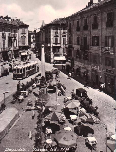 Piazzetta della Lega - 1954