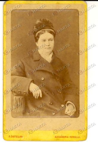 1890 ca ALESSANDRIA Ritratto di Antonia SCHLEGEL