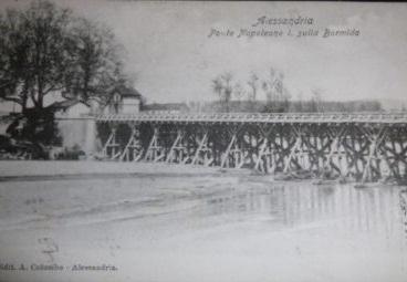 1908 ALESSANDRIA PONTE NAPOLEONE.