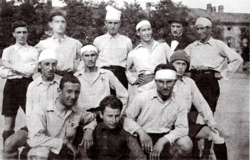 1918 - In Cittadella durante la Prima Guerra Mondiale
