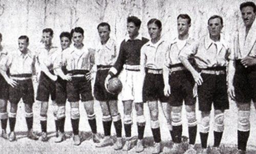 1919 – La squadra dell'Alessandria Fbc vincitrice della Coppa Brezzi