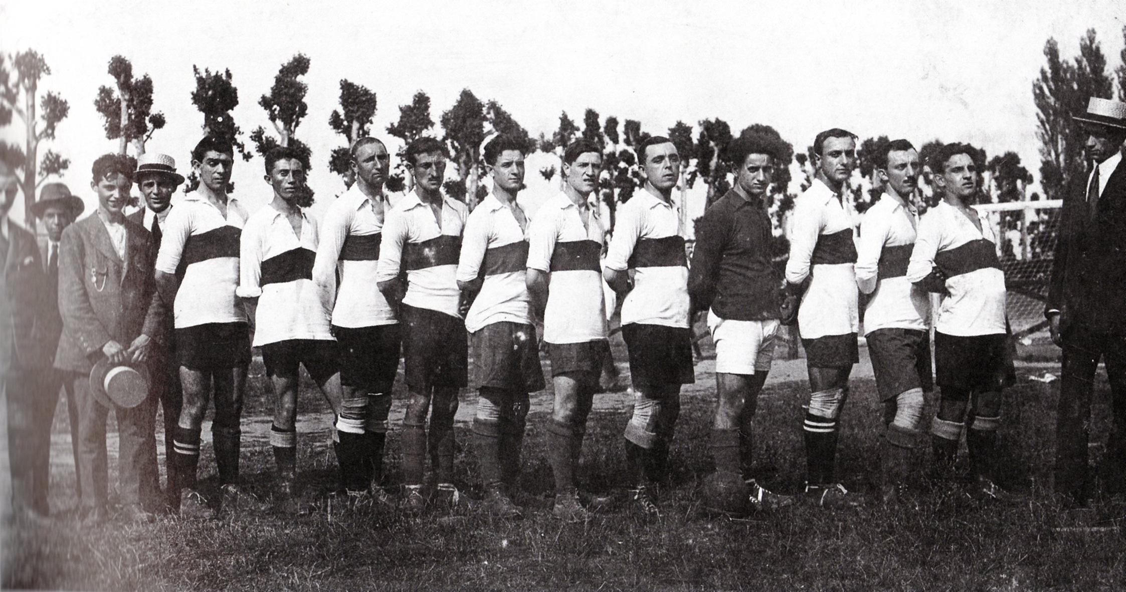 1920-LUS-Alessandria-da-sinistra-Talamazzini-Scevola-Canobbio-Barberis-Sperati-Scovenna-Capra-I-Orgero-Lazoli-II-Poggi-Montanari-I.-In-borghese-Ugo-Milano.