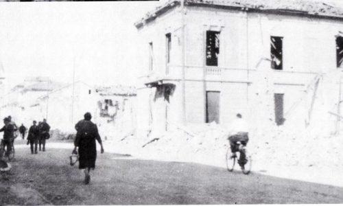 1944 – Ecco come si presentava Corso Acqui dopo un'incursione aerea