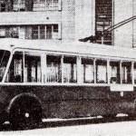 1952 – Uno dei primi filobus circolanti in Alessandria