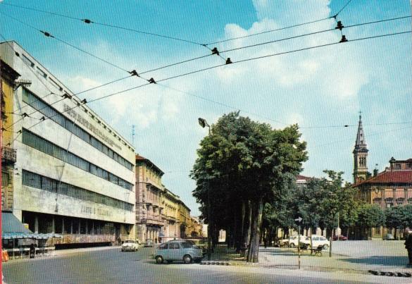 Piazza della Libertà - Palazzo delle Poste
