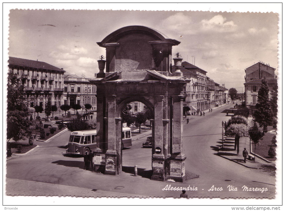 Arco di via Marengo 1958