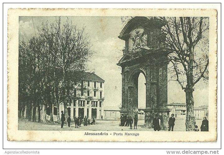Arco di Porta Marengo 1917