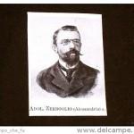 Onorevole A. Zerboglio – Alessandria – deputato in Italia nel 1900