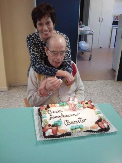 Benito Michelon oggi, nel giorno del suo 75° compleanno