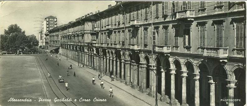 Piazza Garibaldi e Corso Crimea
