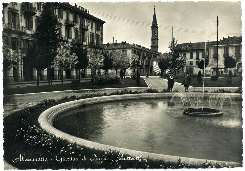 Giardini di Piazza Matteotti (Piazza Genova)