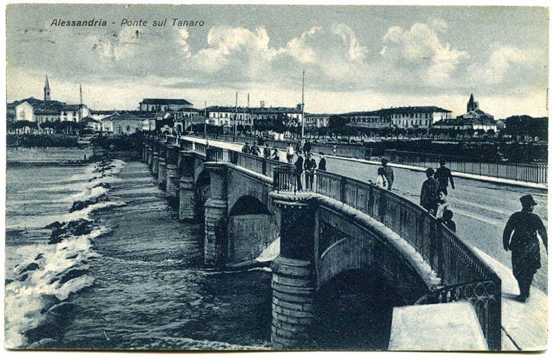 """Il """"nuovo"""" ponte. Anni '20, ca."""