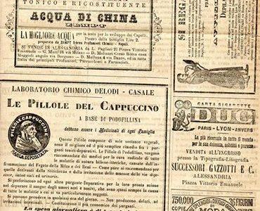 ALESSANDRIA 1892.. vecchie pubblicità