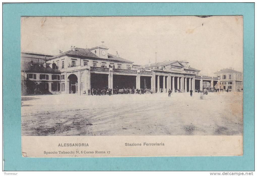 AL - STAZIONE FERROVIARIA 1909